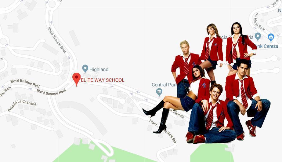 Google Maps: así luce el colegio donde se grabó la telenovela 'Rebelde'