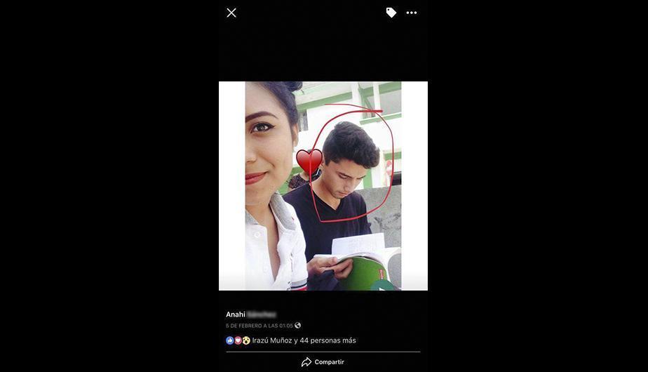 Etiquetó a su novia en una foto, pero el perfil de ella revela triste realidad