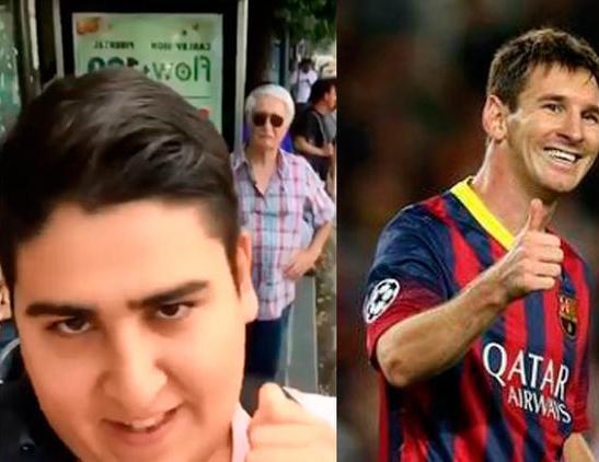 Hincha de Lionel Messi le pide la copa del Mundial de Rusia 2018 y se vuelve viral