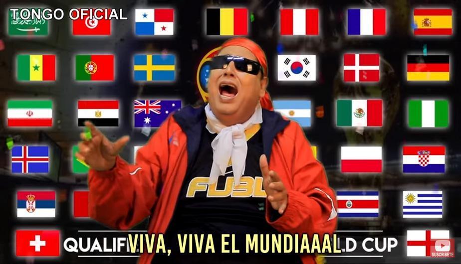 Tongo lanzó su canción para el Mundial de Rusia 2018, ¿Superó a Maluma?