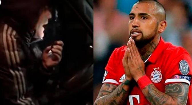 Arturo Vidal envía mensaje burlón a selección argentina e hincha le responde así