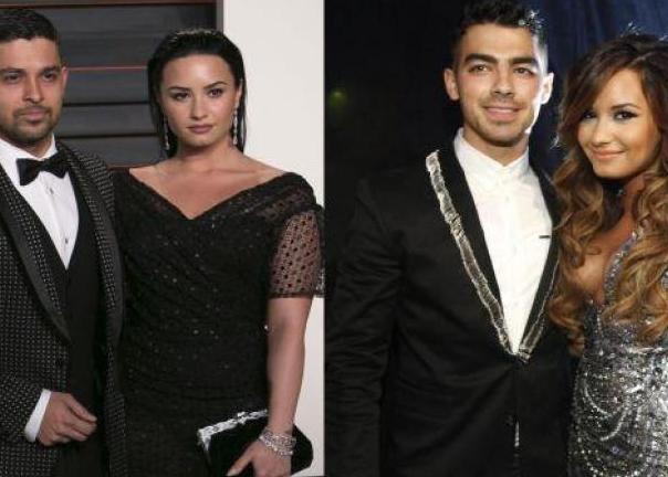 Así reaccionaron los ex novios de Demi Lovato tras su presunta sobredosis