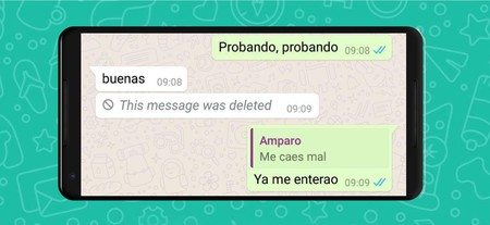 Con este truco podrás volver a editar tu mensaje enviado en WhatsApp