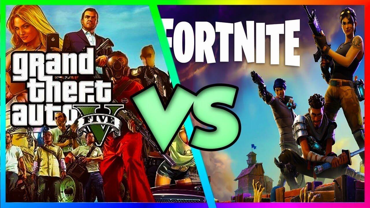 fortnite y gta V de los videojuegos más jugados en peru