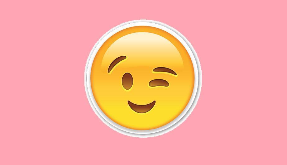 Este es el significado del emoji de la carita guiñando el ojo de WhatsApp