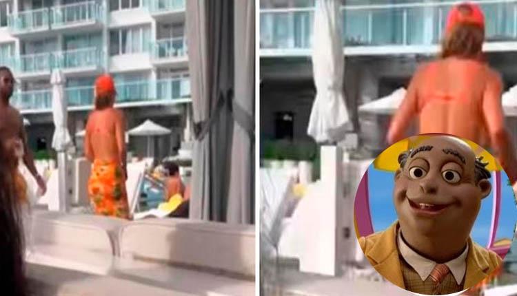 Hombre graba a mujer en la playa, pero 'detalle' de su cuerpo le llamó la atención