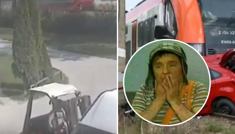 Muchacha aprendía a conducir, se detuvo en las vías del tren y tuvo trágico final