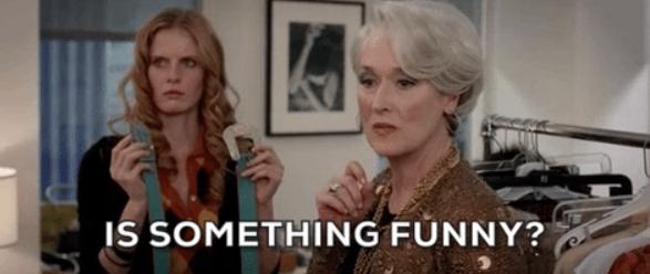 8 cosas absurdas que pasaron en la película 'El Diablo Viste a la Moda'