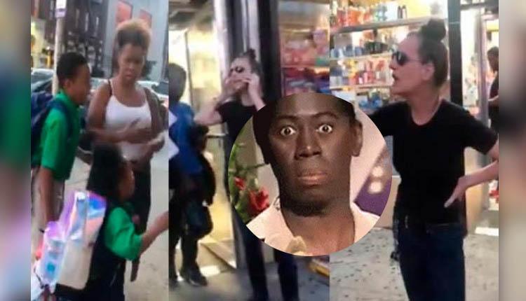 Mujer hace escándalo por niño que le 'tocó' el trasero, pero cámaras la dejan en ridículo