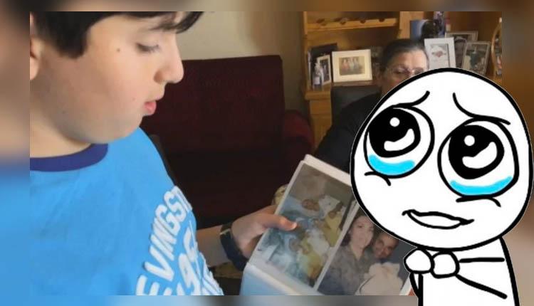 Niño busca su celular perdido con las fotografías y audios de su madre