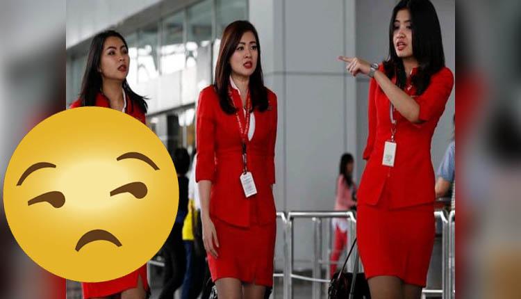 Hombre dice que es la 'azafata más bella del mundo', pero cibernautas 'estallan' por este motivo