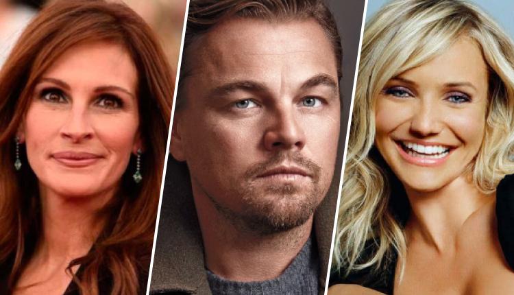 Estos actores tienen fama de tener mala higiene personal. ¡No se bañan!
