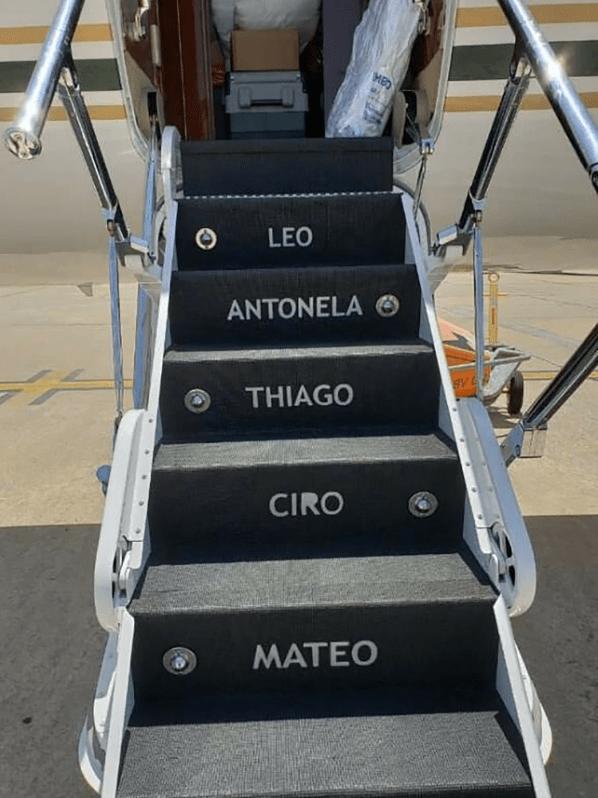 cuanto costo el avion lujoso de lionel messi