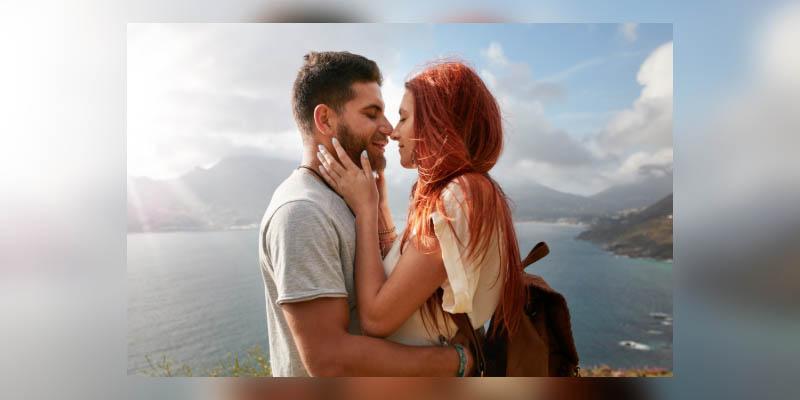 los hombres no consideran infidelidad un beso