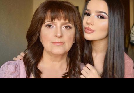 Famosa youtuber le hace radical cambio de look a su madre que te dejará sorprendido