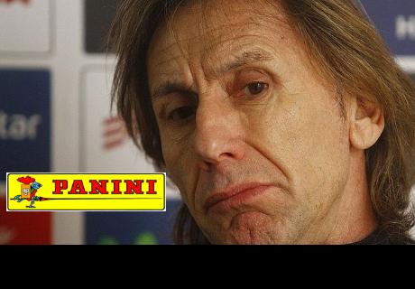 Peru a Rusia 2018: Gareca no quiere saber nada de Panini