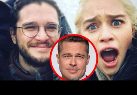 Brad Pitt ofreció enorme suma por ver un capítulo junto a Daenerys y Jon Snow