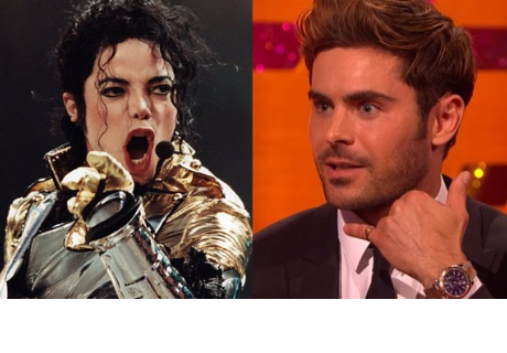 Zac Efron cuenta cómo hizo llorar a Michael Jackson por teléfono
