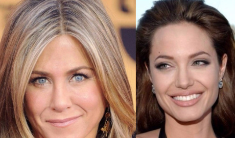 Globos de Oro: Angelina Jolie reaccionó así cuando vio a Jennifer Aniston