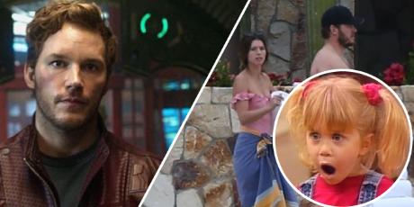 Chris Pratt sorprende a sus fans al lucir con unos kilos de más