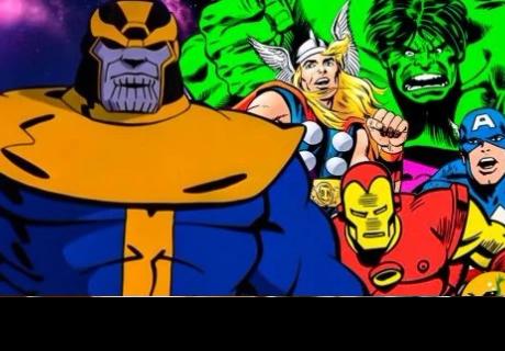 Crean un increíble tráiler de 'Avengers: Infinity War' usando cómics de los años 90