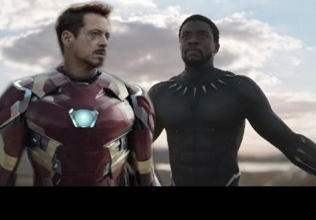 La nueva armadura de Iron Man esconde un secreto y Black Panther lo revela
