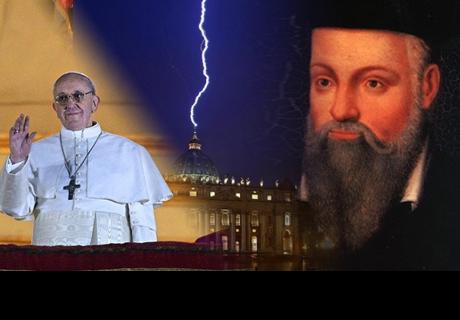 Profecía Nostradamus para el 2018 lanza temible advertencia sobre el Papa Francisco y del mundo