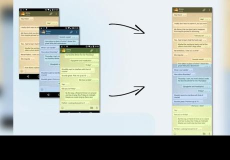 Whatsapp: aprende el sencillo truco para capturar pantalla de toda una conversación