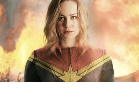 VIDEO: Brie Larson en acción como Captain Marvel