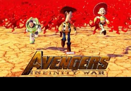 Así sería el tráiler de 'Avengers: Infinity War' si lo protagonizaran personajes de Pixar