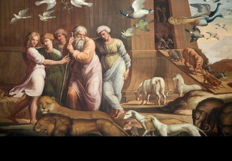 Investigador aseguró que Noé llamo a su hijo con un celular para que se subiera al arca