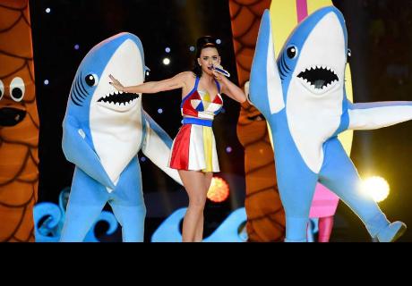 Tiburón que se robó el show de Katy Perry rompió  su silencio