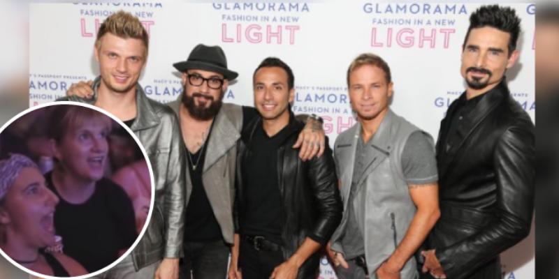 Cantan al ritmo de los Backstreet Boys y sorprenden por su coordinación