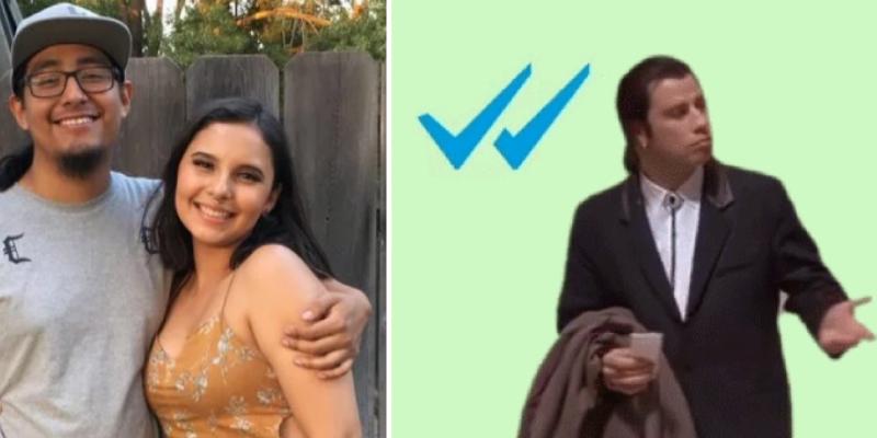 Su novio la deja en 'visto' y ella edita un vídeo sobre su búsqueda