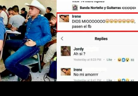 Comentó foto de joven, su novio lo vio y respondió de esta manera