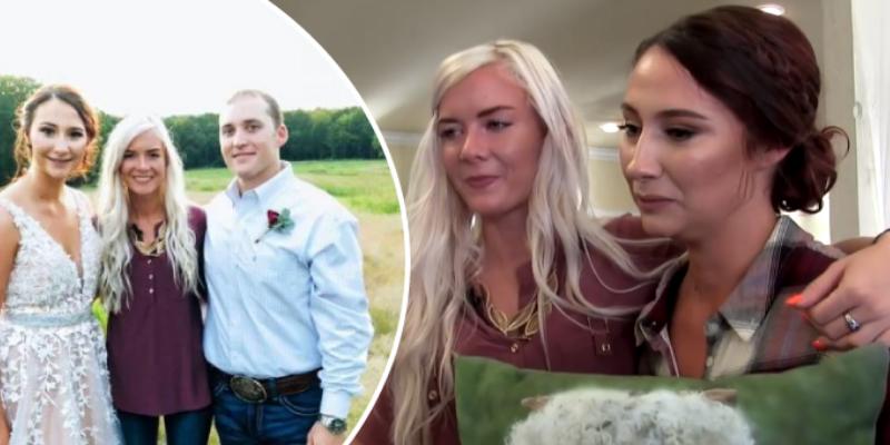 Terminó con su novio y emociona a una pareja desconocida al regalarle su boda