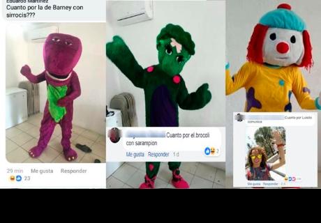 Puso a la venta disfraces feos y recibió divertidos comentarios