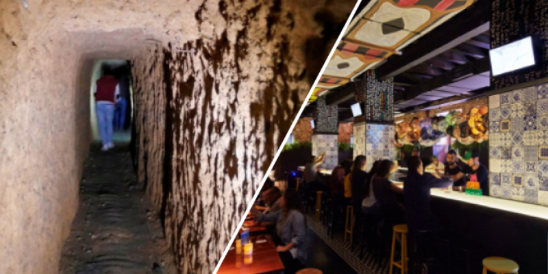 Cavó un túnel por 15 años para escapar de su esposa e ir por una 'noche de copas'