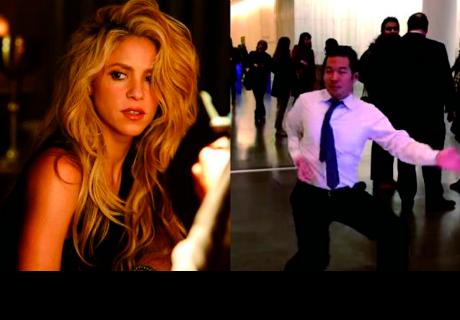 Este coreano fue 'poseído' por Shakira y así actuó [VÍDEO]