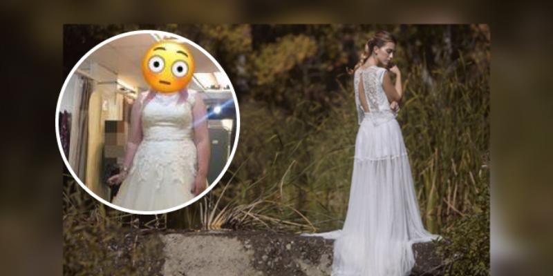 Mujer vende su vestido de novia para pagar su divorcio con esposo mentiroso