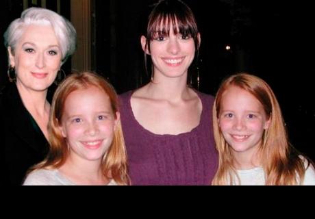 Así lucen las gemelas de Miranda Priestly después de 10 años del estreno de 'El diablo viste a la moda'