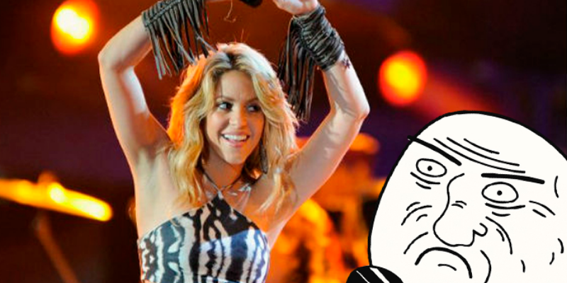 Shakira enseña a seguidores a como mantenerse en forma