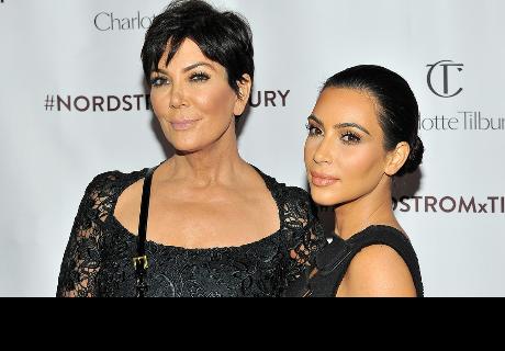 Así lucían Kim Kardashian y Kris Jenner hace 21 años