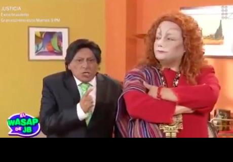 Así fue el reencuentro entre Carlos Álvarez y Jorge Benavides