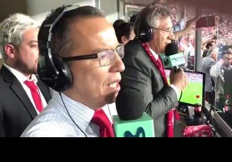 Daniel Peredo: así narró la clasificación de Perú al Mundial [VÍDEO]