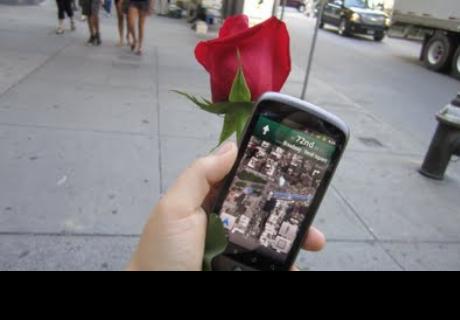 Google Maps capta en calles de Lima peculiar forma de pedir matrimonio
