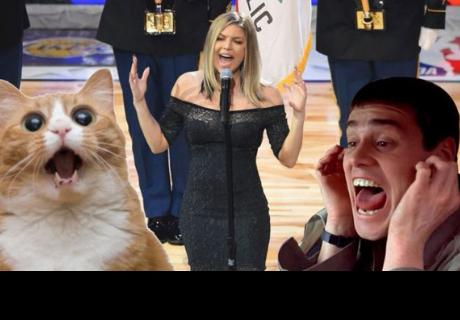 Fergie recibió una ola de críticas por su forma de cantar el himno nacional de los Estados Unidos