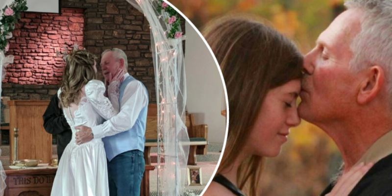 Joven ya no soporta la criticas a su matrimonio por haberse casado con hombre mayor