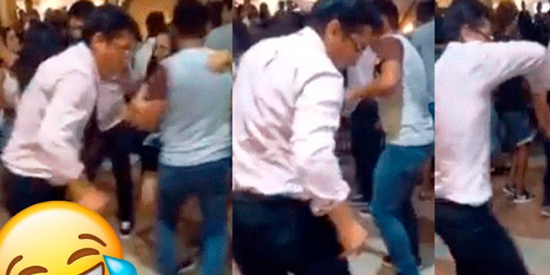 Joven busca sorprender a su novia con sus 'inesperados' pasos de baile