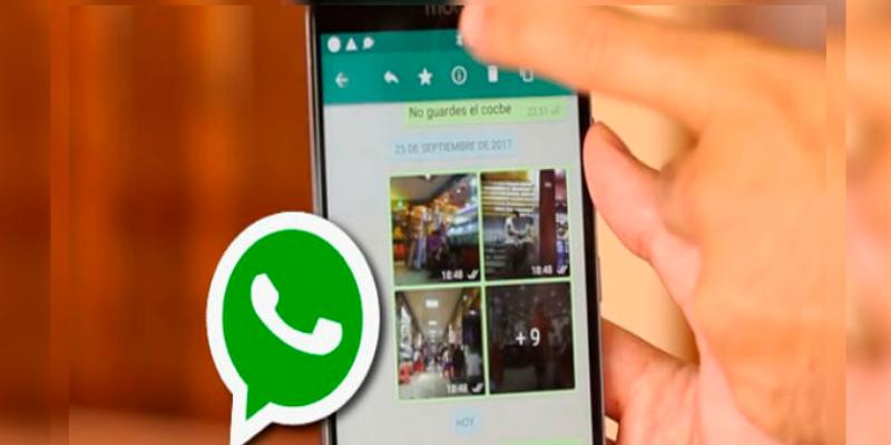 Evitar que las fotos que te envían en WhatsApp saturen tu celular
